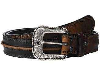 Ariat Two-Tone Center Cord Belt