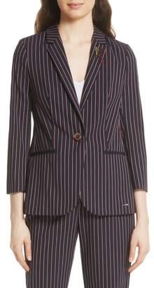 Ted Baker Pinstripe Suit Jacket