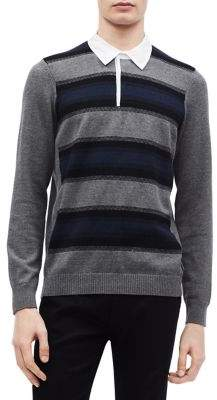 Calvin Klein Stripe Rugby Shirt