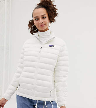 Patagonia Women's Down Sweater Jacket in White