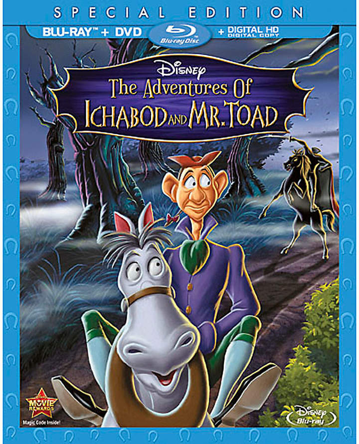 Disney The Adventures of Ichabod and Mr. Toad Blu-ray Special Edition