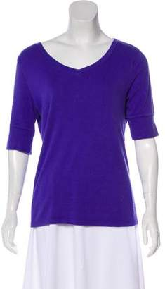 Calvin Klein Long Sleeve V-Neck Top