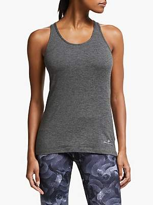Ronhill Momentum Body Tank Top, Grey