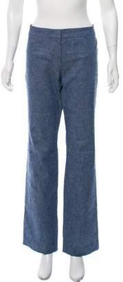 Derek Lam Linen-Blend Wide-Leg Jeans
