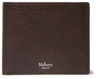 Mulberry Full-Grain Leather Billfold Wallet - Men - Dark brown