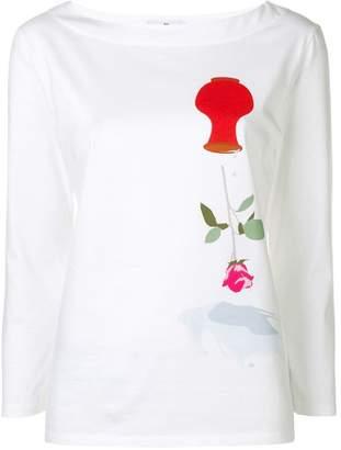 Paul Smith flower print sweatshirt
