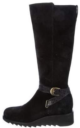 Donald J Pliner Knee-High Wedge Boots