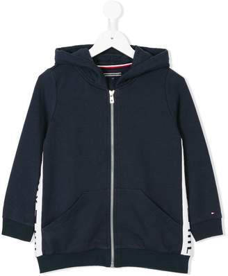 Tommy Hilfiger Junior zipped hoodie