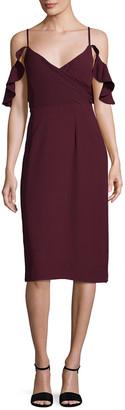 Paper Crown Celia V-Neck Dress