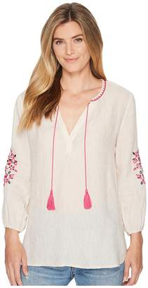 Nic+Zoe Flora Top Women's Clothing