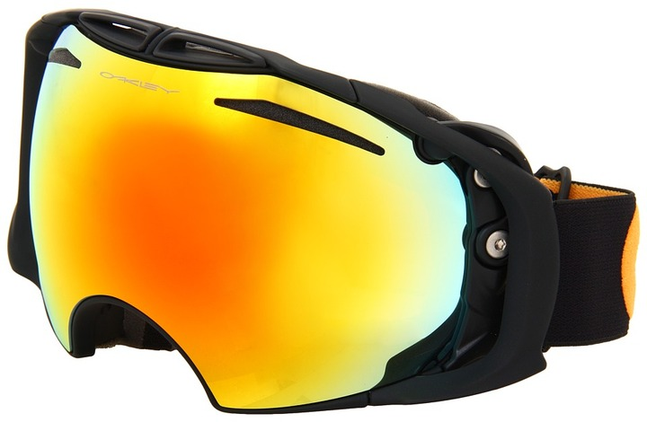 Oakley Airbrake '12 (Airbrake Nightrider w/Fire and Persimmon) - Eyewear