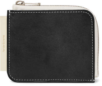 Hender Scheme - Colour-block Leather Zip-around Wallet - Black