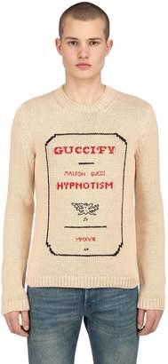 Gucci Guccify Invitation Intarsia Sweater