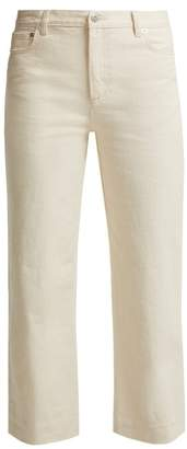 A.P.C. Sailor Mid Rise Cropped Jeans - Womens - Cream