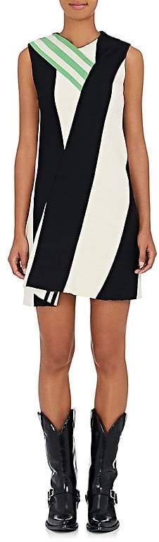 CALVIN KLEIN 205W39NYC Women's Striped Compact-Knit Shift Dress
