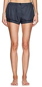 Araks Women's Tia Silk Pajama Shorts-Dk. Blue