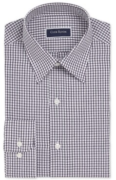 63d8c6a4a85 Club Room Men's Slim-Fit Check Dress Shirt, Created for Macy's