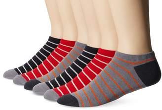 Ben Sherman Men's 6 Pack Manas Low Cut Socks