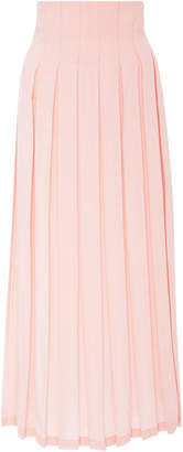 Mara Hoffman Cordelia Pleated Tencel Maxi Skirt