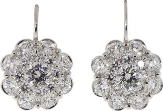 Kwiat Cluster Collection Diamond Drop Earrings