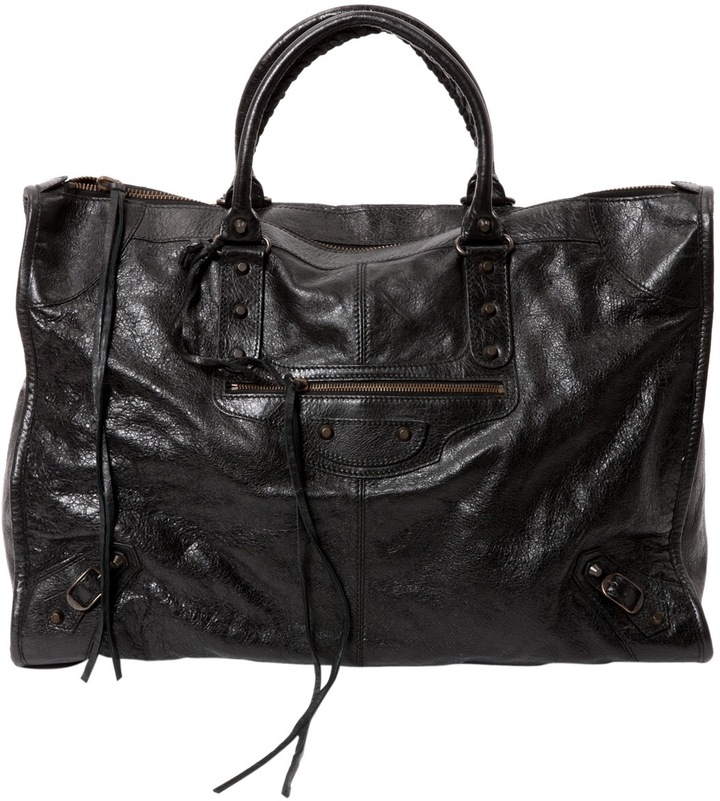 Balenciaga  Vélo leather bag