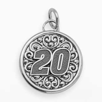 "Insignia Collection NASCAR Matt Kenseth Sterling Silver ""20"" Pendant"