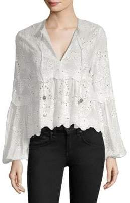 The Kooples Fancywork Lace Top