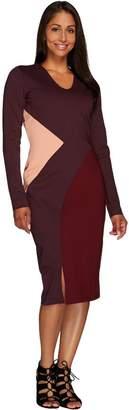 G.I.L.I. Got It Love It G.I.L.I. Petite Milano Ponte Color-Block Dress