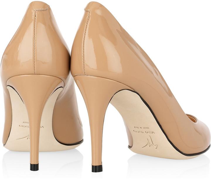 Giuseppe Zanotti Justin patent-leather pumps