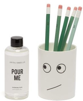 Anya Hindmarch Anya Smells Chewing Gum Scented Diffuser - White Multi