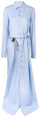 A.F.Vandevorst long-sleeve maxi dress