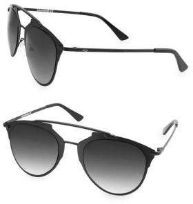 ALFIE 52MM Aviator Sunglasses