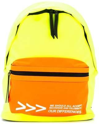 Ports V colour-block backpack