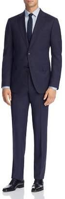 Ermenegildo Zegna Mélange Plaid Wool Slim Fit Suit