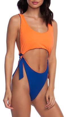 Bikini Lab The Sonic Boom Reversible One-Piece Swimsuit
