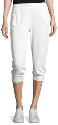 ATM Anthony Thomas Melillo French Terry Capri Sweatpants, White