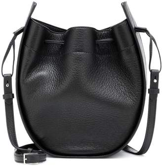 8f68be7be2065 The Row Drawstring leather shoulder bag
