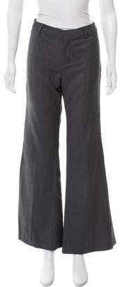 Nili Lotan Wool Mid-Rise Pants