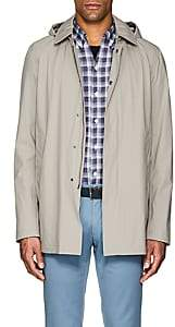 Herno Men's Tech-Poplin Raincoat-Sand