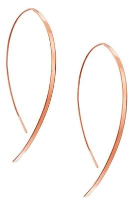 Lana Small Vanity Threader Hoops