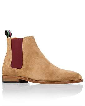 Paul Smith Gerald Suede Boot Camel