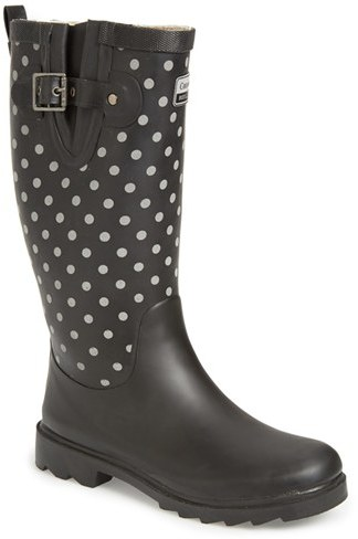Chooka Women's Chooka 'Flash Dot' Reflective Rain Boot