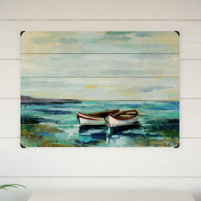Wayfair Boats on the Beach Wall Decor