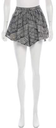 Kenzo High-Rise Mini Shorts Black High-Rise Mini Shorts