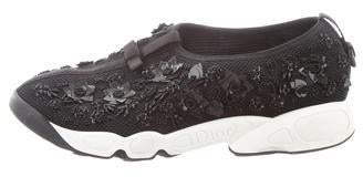 Christian Dior Fusion Embellished Sneakers