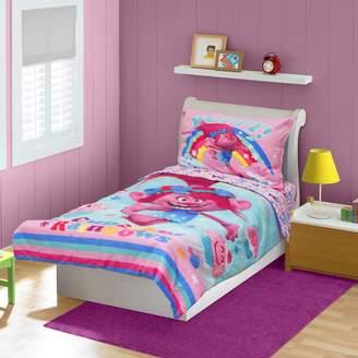 Kohl's DreamWorks Trolls 4-pc. Toddler Bedding Set