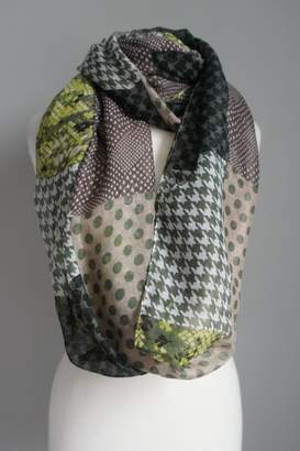 Accessory Concierge Patch-Pattern Infinity Scarfs