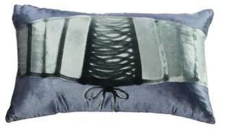 Aviva Stanoff Silk Lumbar Throw Pillow
