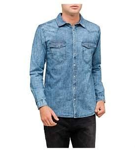 R & E RE: Double Pocket Denim Shirt