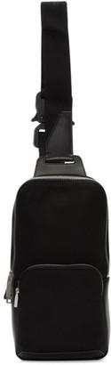 Alyx Black Technical Crossbody Bag